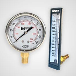 Pressure Gauges home
