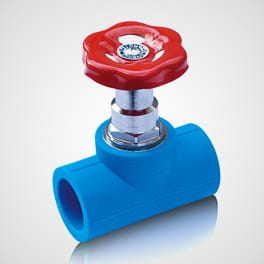 Stop valve Type 1 Blue Ocean
