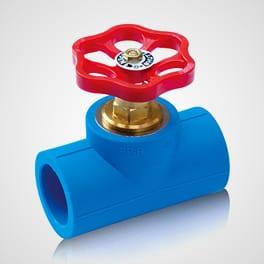 Stop valve short Blue Ocean